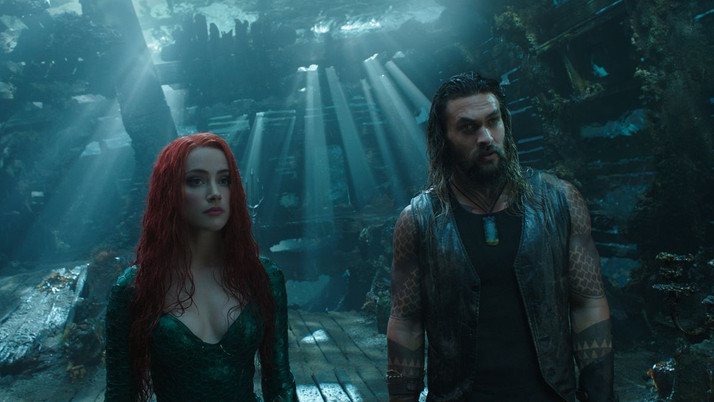Aquaman: Another Bland Entry in a Highly-Troubled Group of Films (Blu-ray)