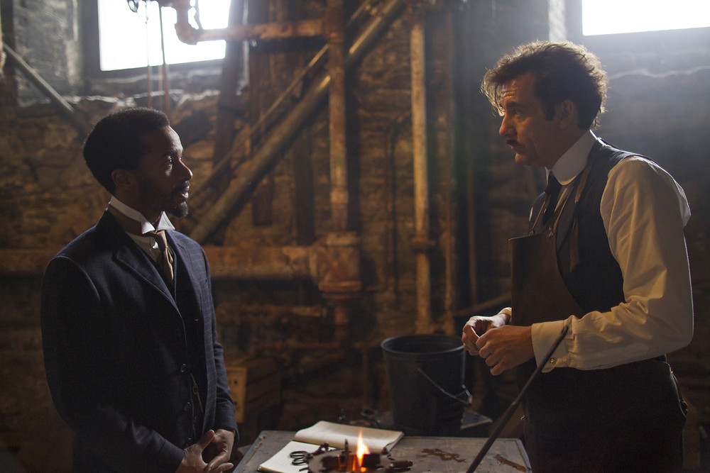 """Andre Holland and Clive Owen in """"The Knick"""""""