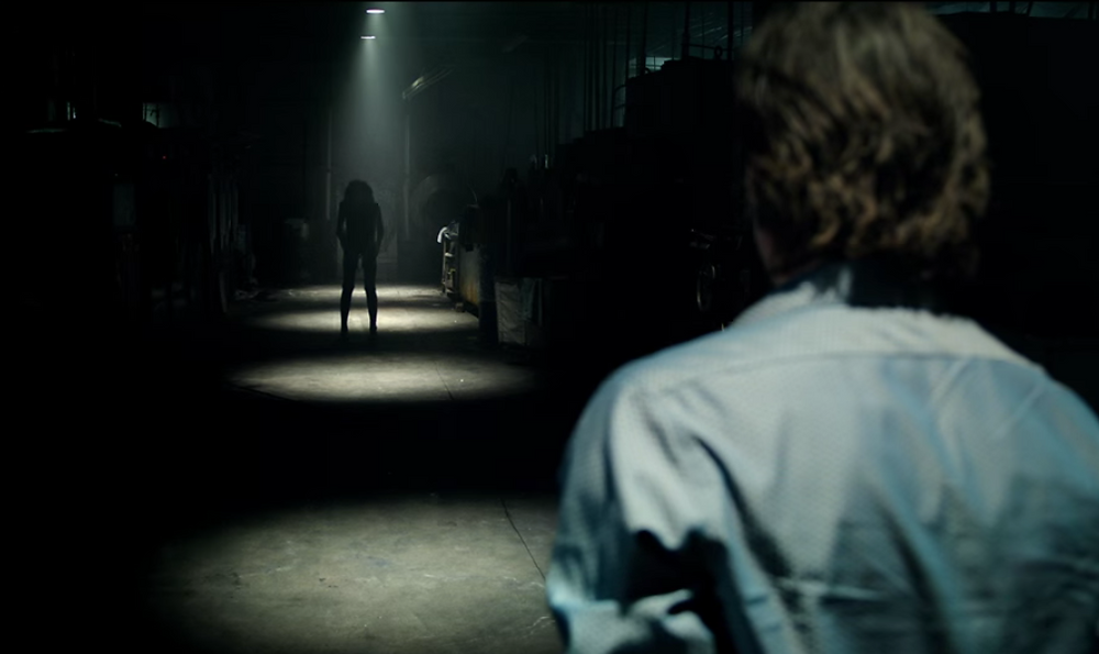 "There's something lurking in the shadows in ""Lights Out"""