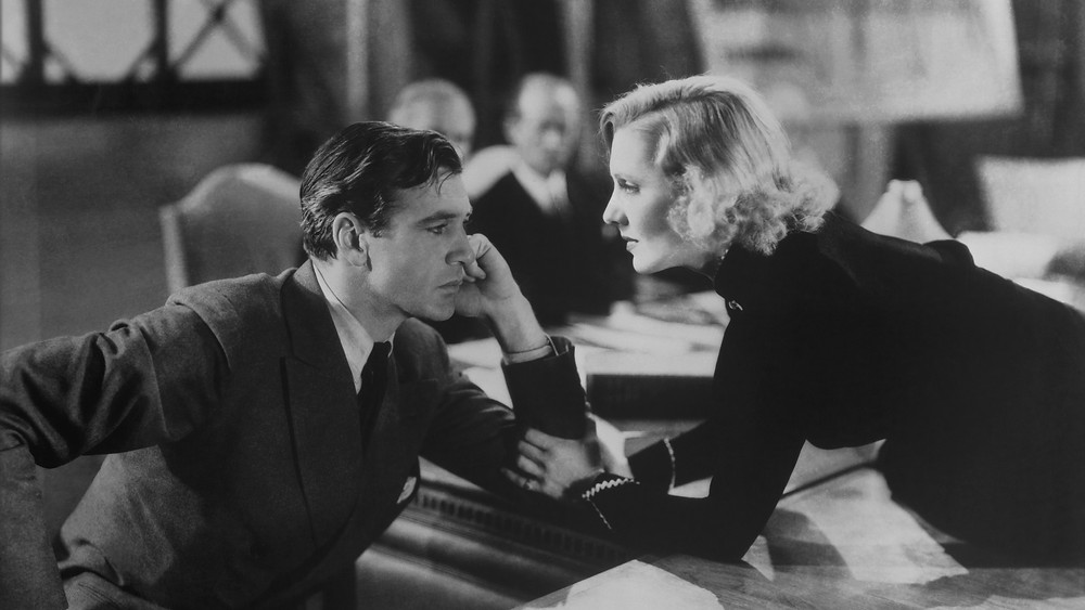 "Gary Cooper and Jean Arthur in ""Mr. Deeds Goes to Town"""