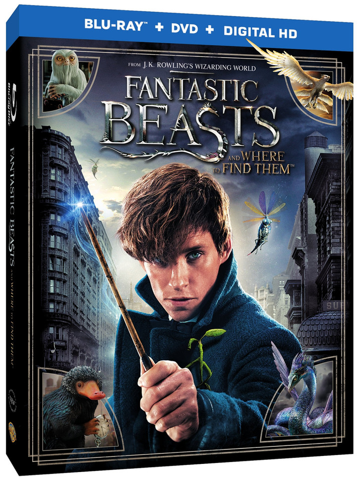 Fantastic Beasts and Where to Find Them Comes to Digital HD on March 7th and to Blu-ray/DVD on March