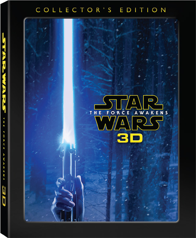 Star Wars: The Force Awakens 3D Collector's Edition Comes to Blu-ray on November 15th