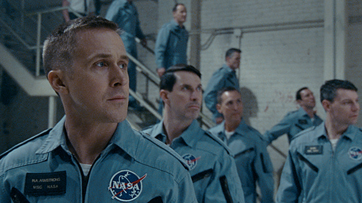 First Man: A Stunning Armstrong Biopic (Blu-ray)