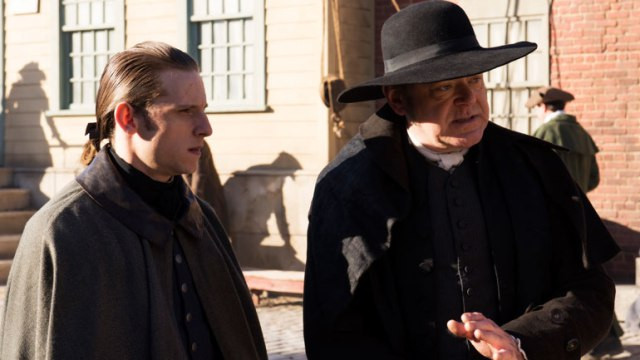"Jamie Bell and Kevin R. McNally in ""Turn: Season One"""