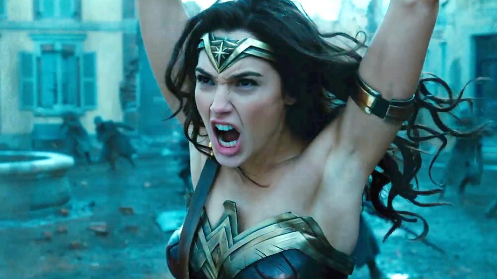 "Gal Gadot in ""Wonder Woman"""