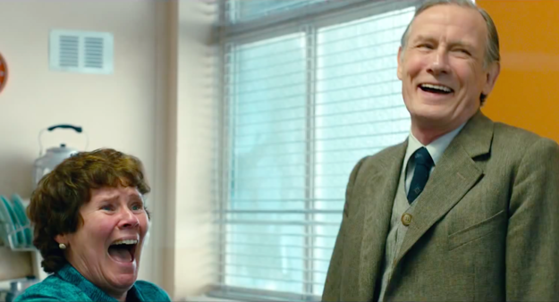 "Imelda Staunton and Bill Nighy in ""Pride"""