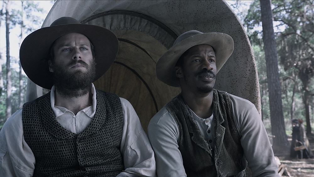 """Armie Hammer and Nate Parker in """"The Birth of a Nation"""""""