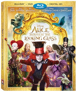 Alice Through the Looking Glass Comes to Blu-ray/DVD and Digital HD October 18th