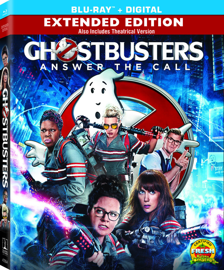 Ghostbusters Reboot Comes to Digital HD September 27th and Blu-ray/DVD October 11th