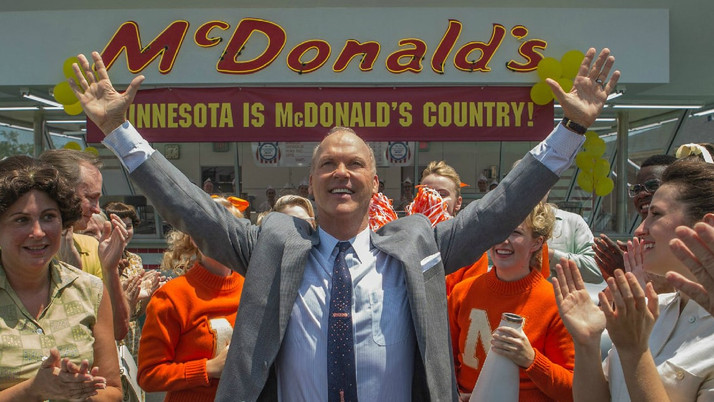 The Founder: The Fascinating Rise of a Fast-Food Empire (Blu-ray)