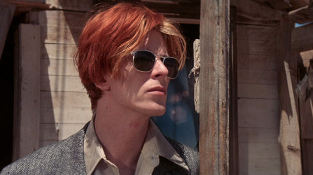 """David Bowie in """"The Man Who Fell to Earth"""""""