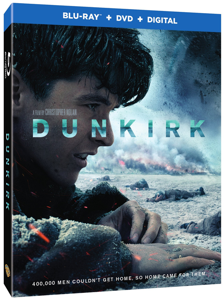 Dunkirk Comes to Digital HD December 12th and Blu-ray/DVD December 19th
