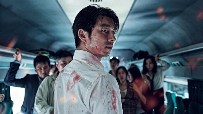 "Gong Yoo in ""Train to Busan"""