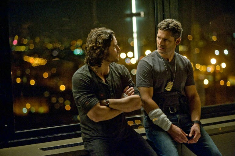 "Edgar Ramirez and Eric Bana in ""Deliver Us from Evil"""