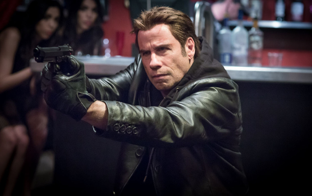"John Travolta in ""I Am Wrath"""
