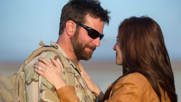 "Bradley Cooper and Sienna Miller in ""American Sniper"""