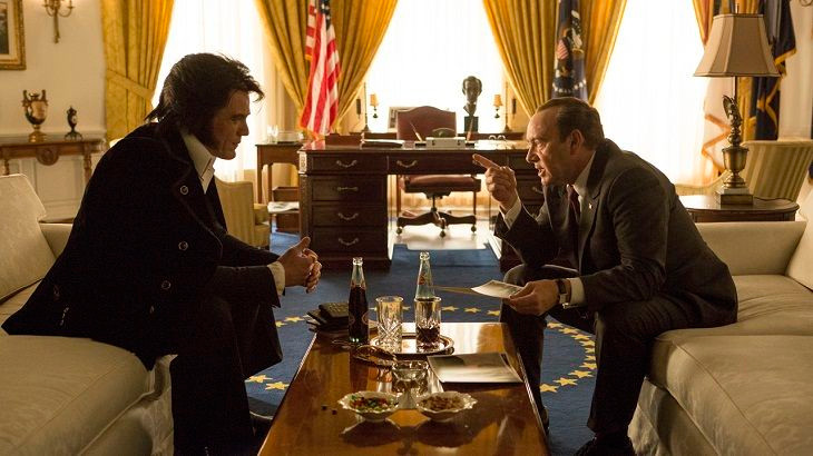 "Michael Shannon and Kevin Spacey in ""Elvis & Nixon"""