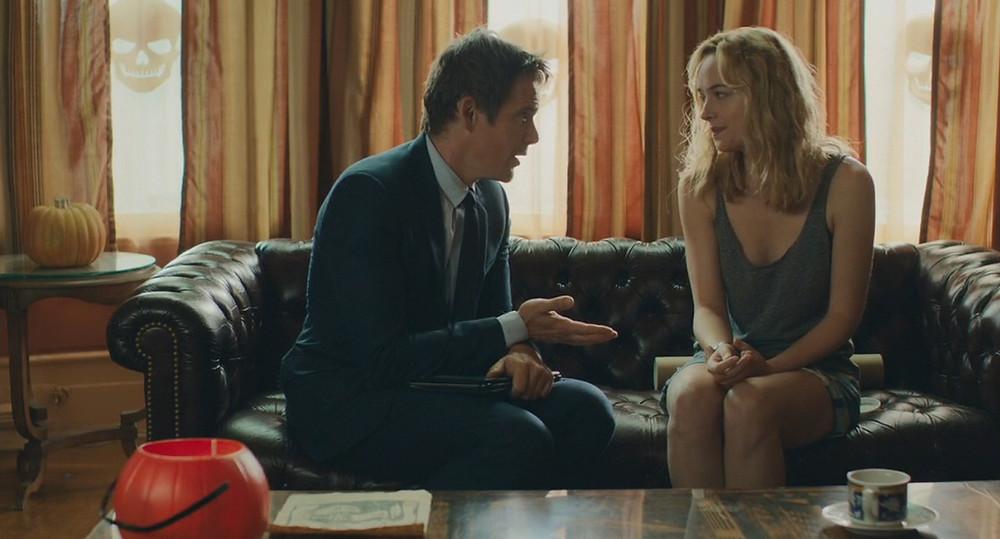 "Ethan Hawke and Dakota Johnson in ""Cymbeline"""