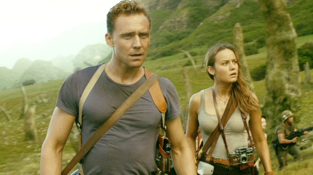 "Tom Hiddleston and Brie Larson in ""Kong: Skull Island"""