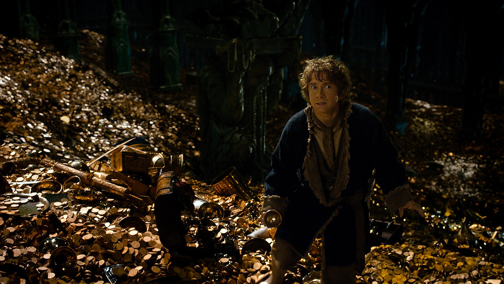 "Martin Freeman in ""The Hobbit: The Desolation of Smaug"""