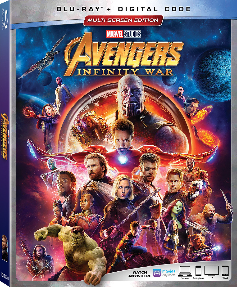 Avengers Infinity War Box Art