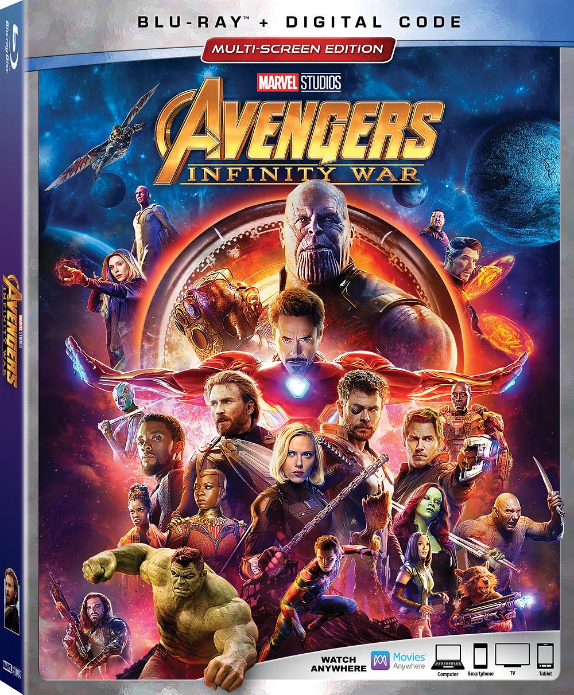 Avengers Infinity War Box Art