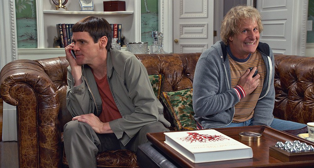 "Jim Carrey and Jeff Daniels in ""Dumb and Dumber To"""
