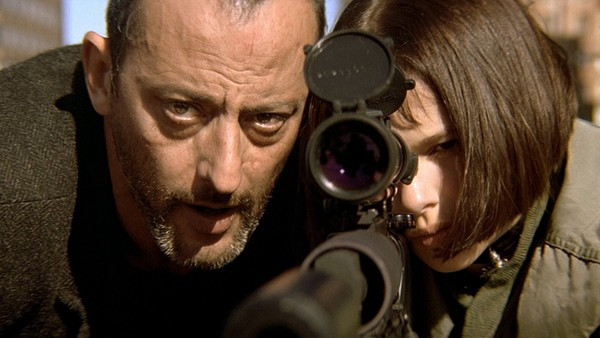 "Jean Reno and Natalie Portman in ""Leon: The Professional"""