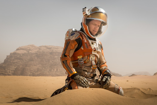 "Matt Damon in ""The Martian"""