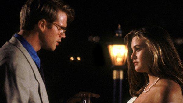 "Cary Elwes and Alicia Silverstone in ""The Crush"""