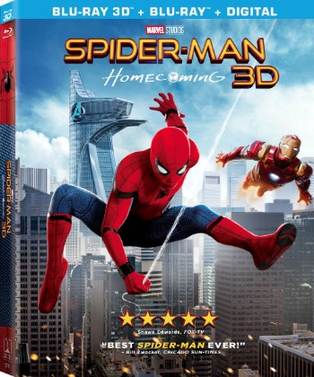 Spider-Man: Homecoming Comes to Digital HD September 26th and Blu-ray/DVD October 17th