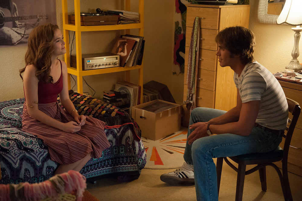 """Zoey Deutch and Blake Jenner in """"Everybody Wants Some!!"""""""