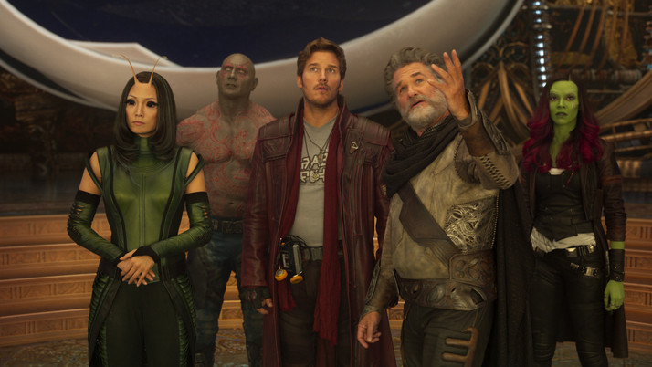 Guardians of the Galaxy Vol. 2: Marvel's Greatest Franchise Returns with a Bang (Blu-ray)