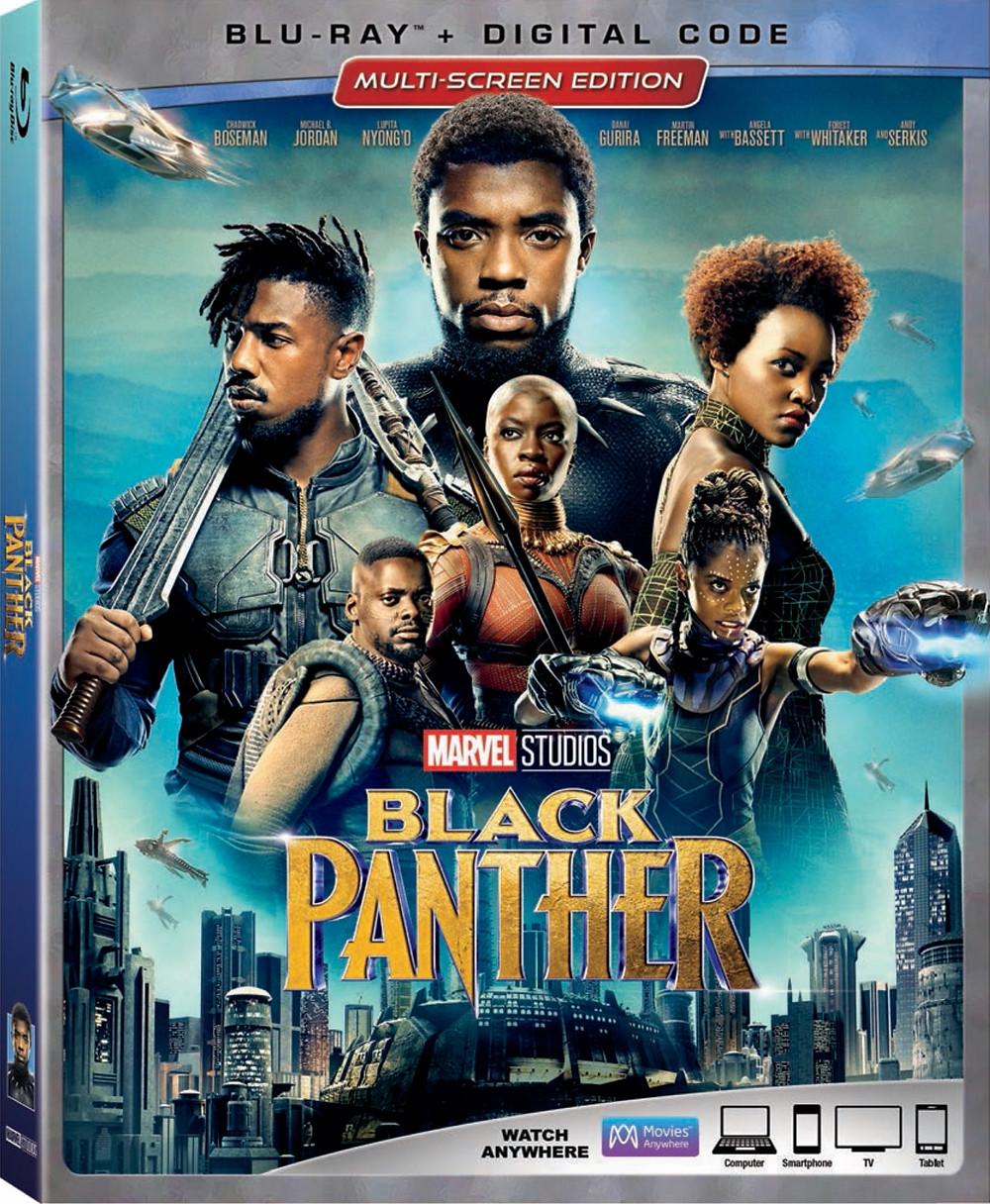 Black Panther Box Art