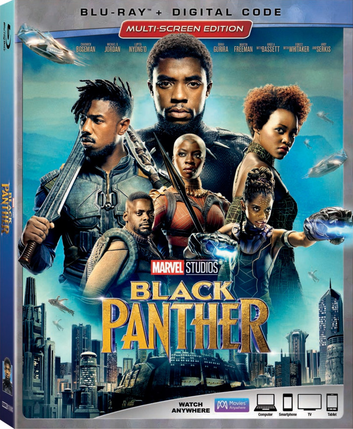 Black Panther Comes to Digital HD May 8th and Blu-ray/DVD May 15th