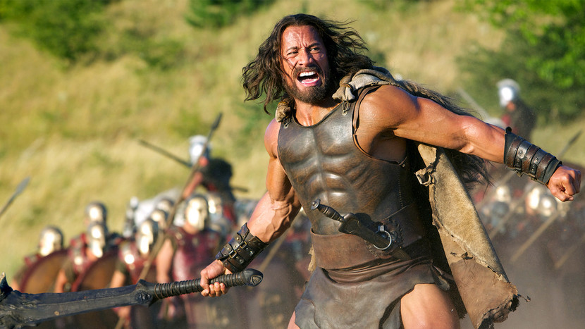 "Dwayne Johnson in ""Hercules"""