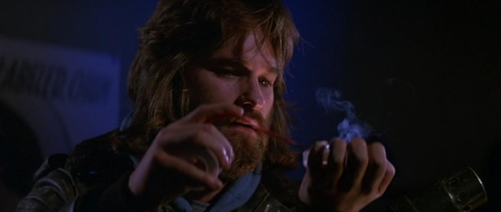 """MacCready (Kurt Russell) tries to determine who is still human in John Carpenter's """"The Thing"""""""