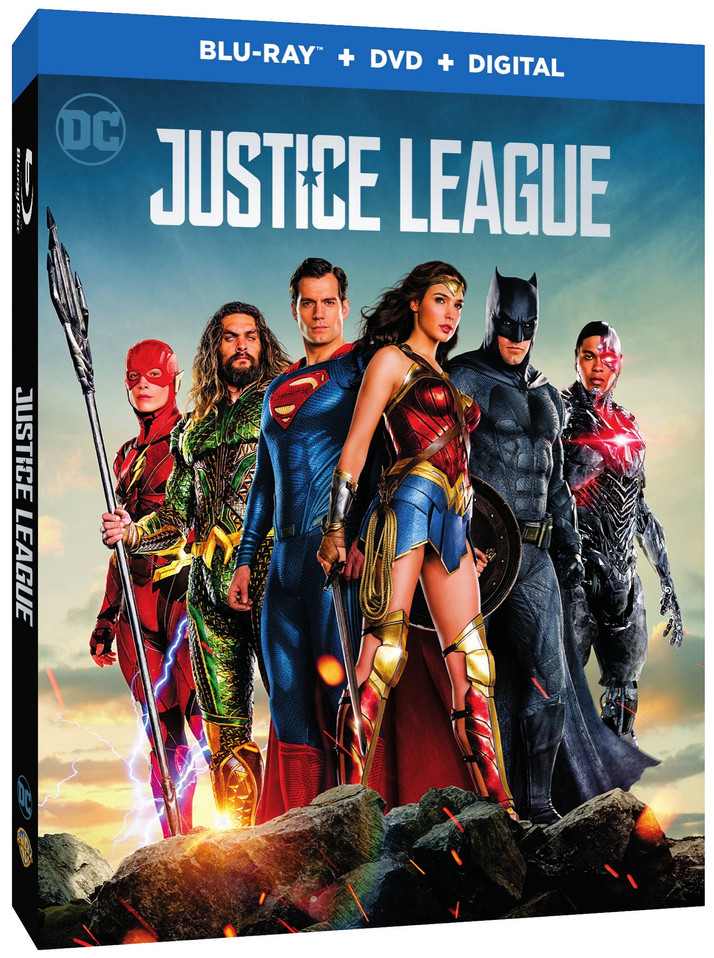 Justice League Comes to Digital HD February 13th and Blu-ray/DVD March 13th