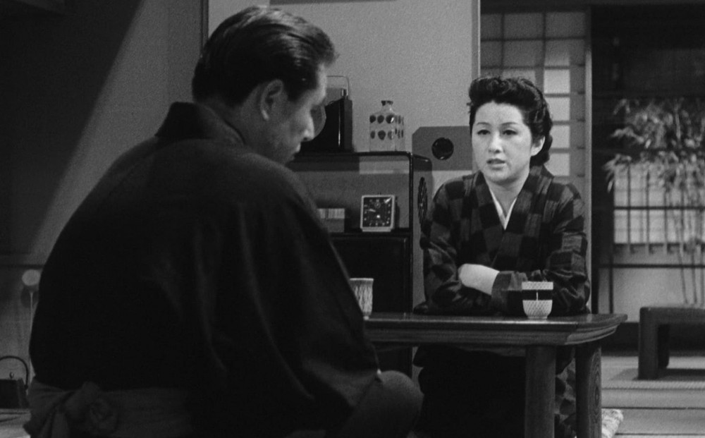 "Shin Saburi and Michiyo Kogure in ""The Flavor of Green Tea over Rice"""