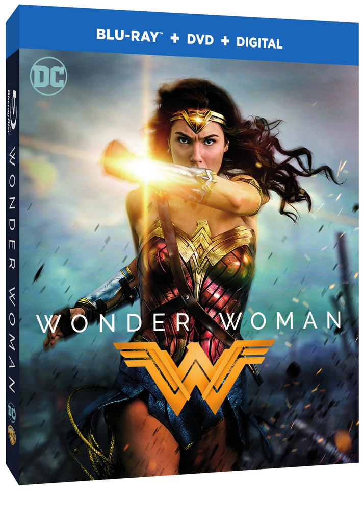 Wonder Woman Comes to Digital HD August 29th and Blu-ray/DVD September 19th