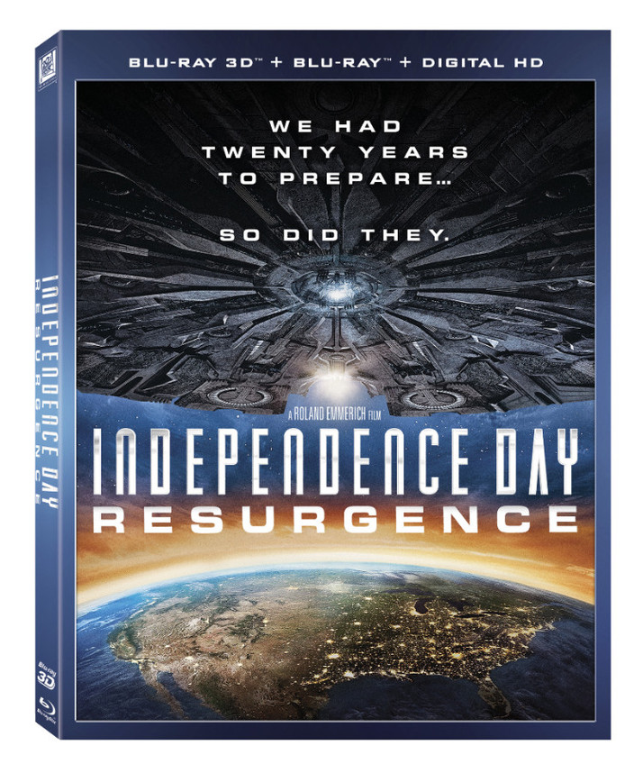 Independence Day: Resurgence Comes to Digital HD September 27th and Blu-ray/DVD October 18th