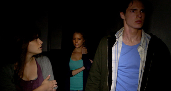 "A group of teenagers finds themselves terrorized by an evil spirit in ""The Gallows"""