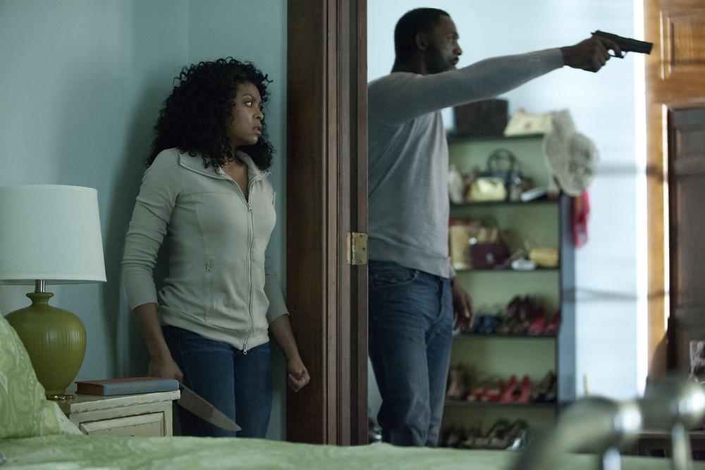"Taraji P. Henson and Idris Elba in ""No Good Deed"""