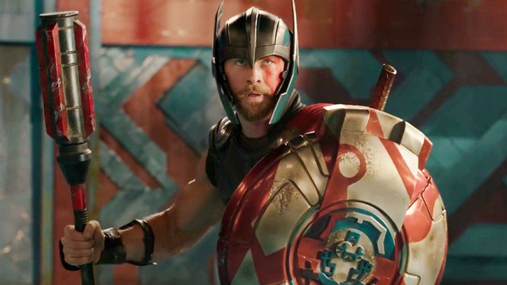 Thor: Ragnarok: The God of Thunder Lightens Up (Blu-ray)