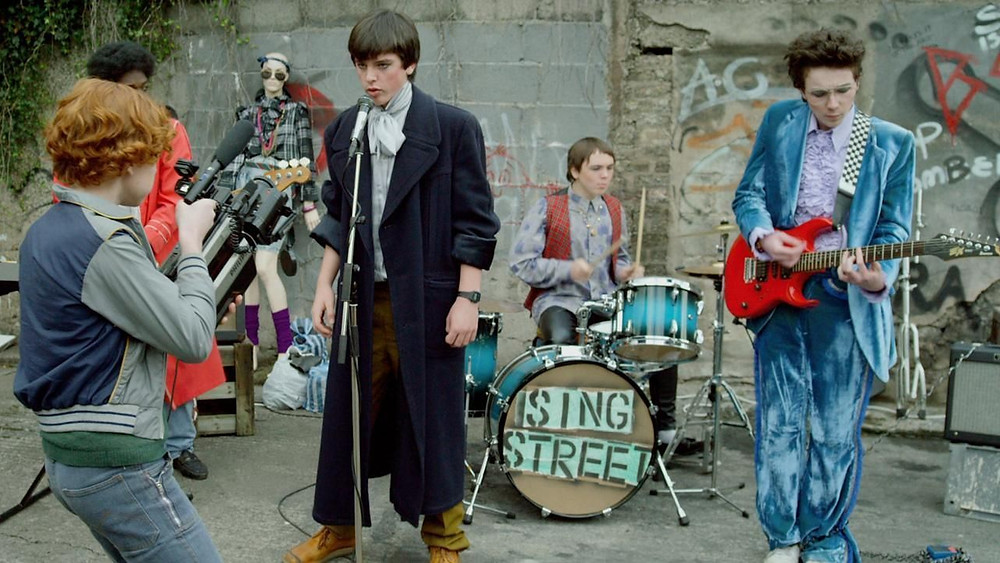 "A young man forms a band to impress a girl in ""Sing Street"""