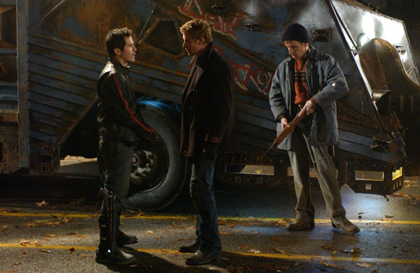 "John Leguizamo, Simon Baker, and Robert Joy in ""Land of the Dead"""