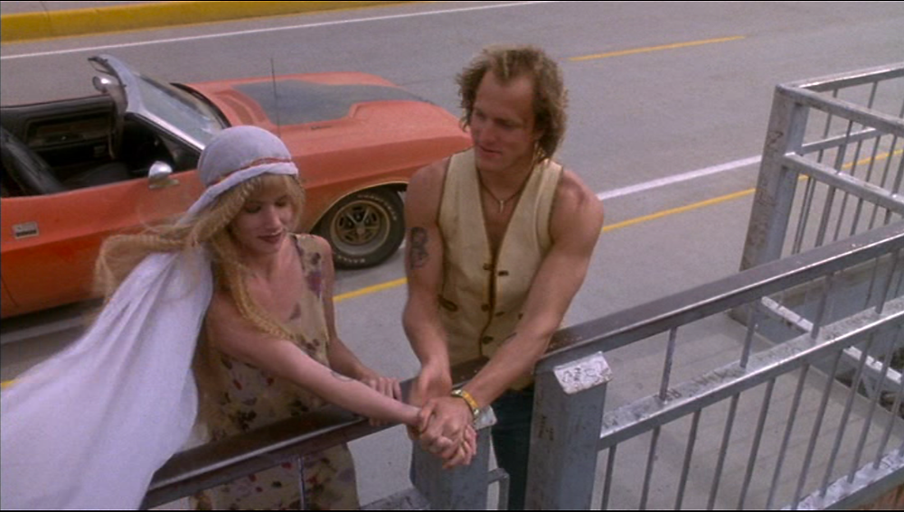 "Juliette Lewis and Woody Harrelson in ""Natural Born Killers"""