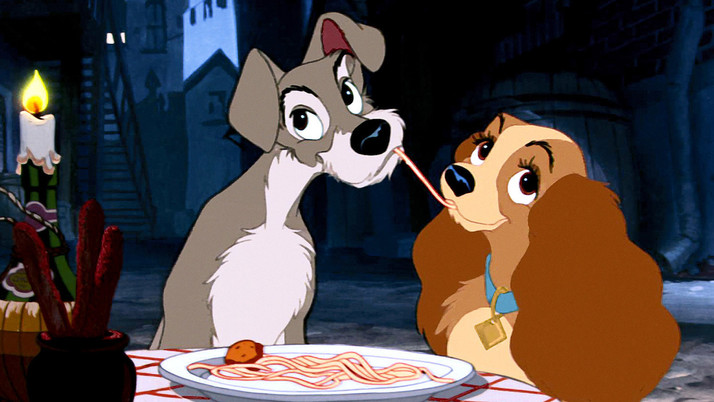 Lady and the Tramp (Signature Collection):   A Charming Animated Classic (Blu-ray)