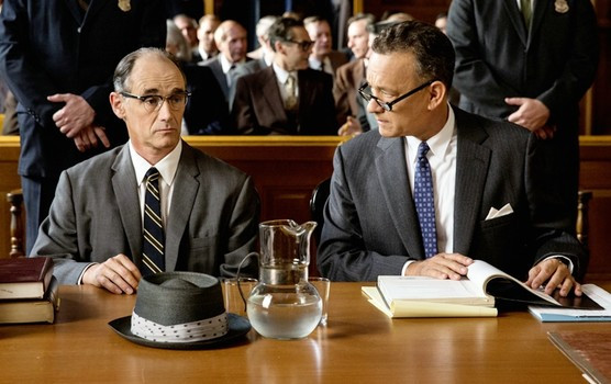 "Mark Rylance and Tom Hanks in ""Bridge of Spies"""