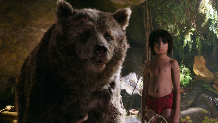 The Jungle Book (2016): A Stunning Visual Feast for All Ages (Blu-ray)